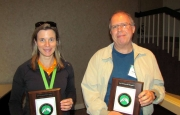 Amy Fulcher and Gene Blythe - 5 Year Plaques